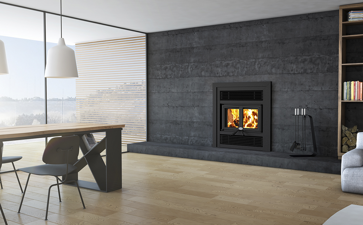 Difference Poele A Bois Et Insert everest | wood fireplaces | osburn