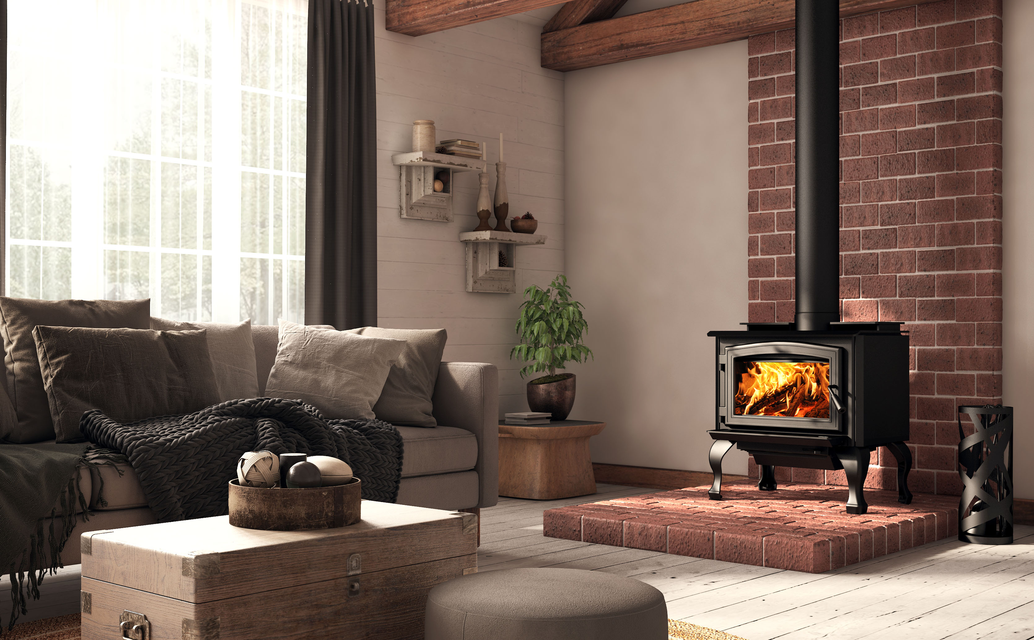 Difference Poele A Bois Et Insert 1700 | wood stoves | osburn