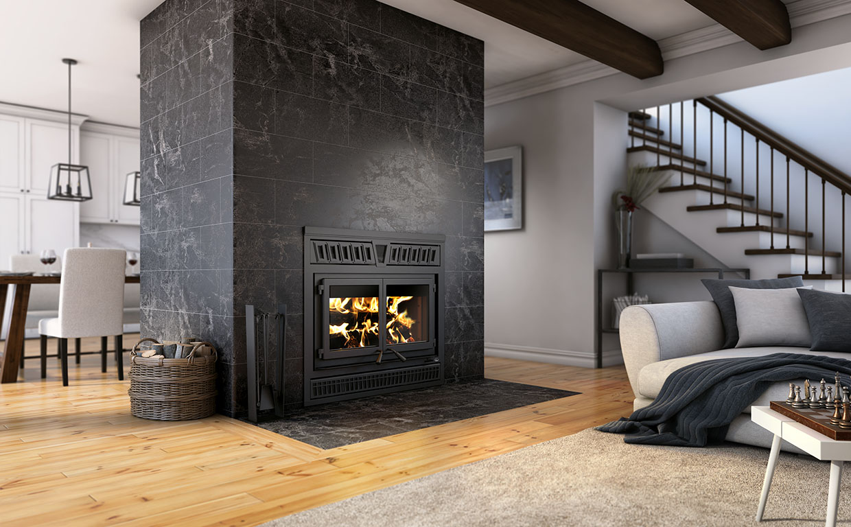Fp15 Waterloo High Efficiency Fireplaces Valcourt